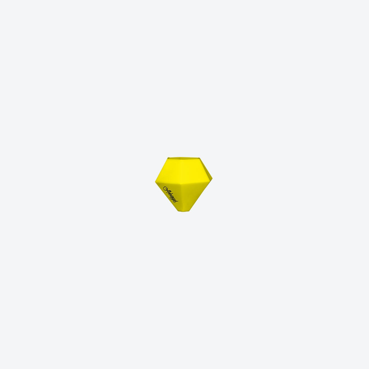 Vase BOK & LOM in Yellow
