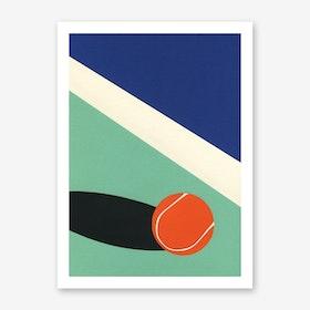 Arizona Tennis Club II Art Print