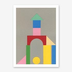 Bauhaus Tower Art Print