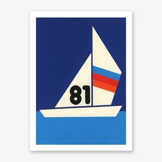 Sailing Regatta 81 Art Print