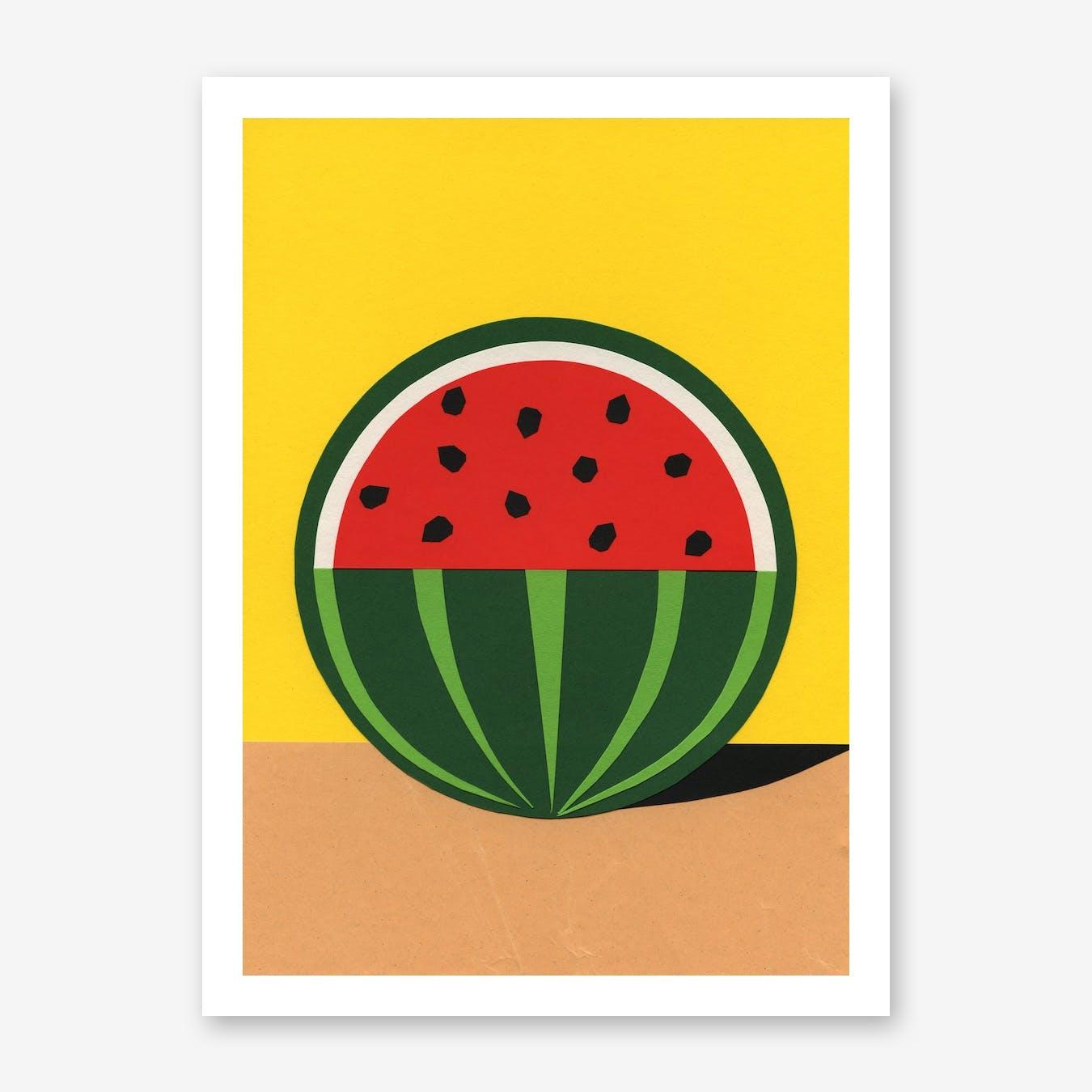 Three Quarter Watermelon