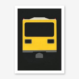Berlin Subway Car GI E1 Art Print
