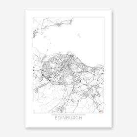 Edinburgh Map Minimal