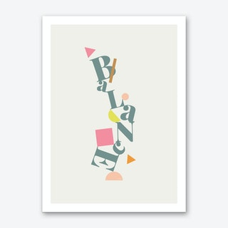 Balance X Art Print
