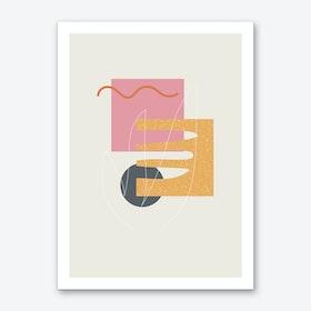 Cut out Art Print