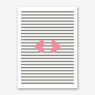 Kiss X Art Print