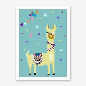 Kids Alpaca I Art Print