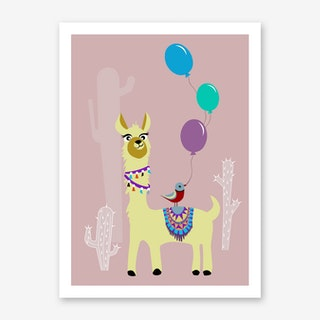 Kids Alpaca III Art Print