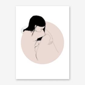 akt3 Sad Art Print