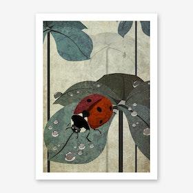 Illu Ladybug Art Print