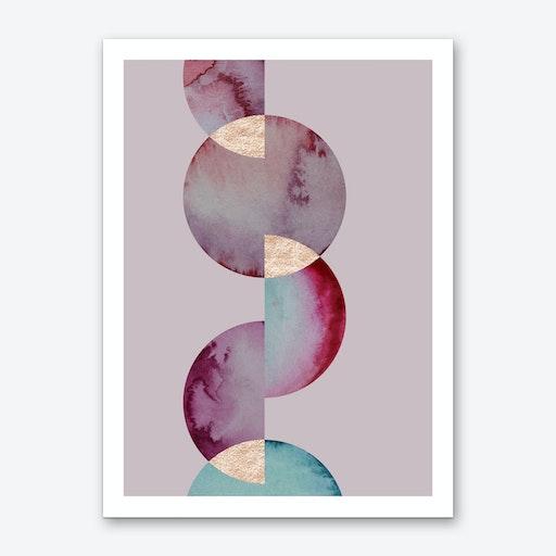Aqua 3 Art Print