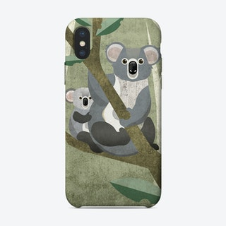 Animal Koala iPhone Case