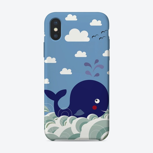 Kids Whale  iPhone Case