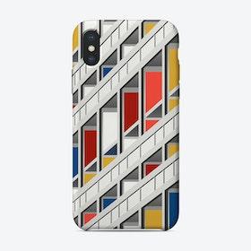 Le Corb iPhone Case