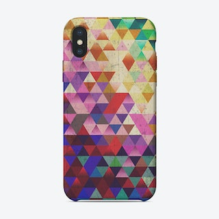 Triangle Col iPhone Case