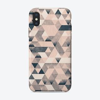 Triangle Mono iPhone Case