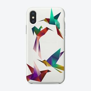 Tropical Birds iPhone Case