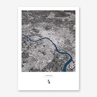 London City Map Art Print