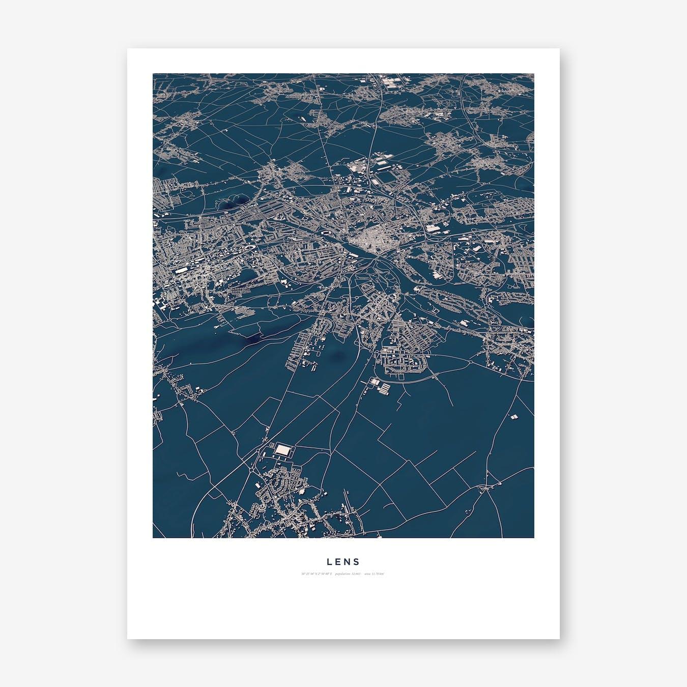 Lens City Map