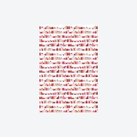 Huisjes Rood Wallpaper