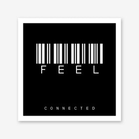 Barcode Feel Art Print