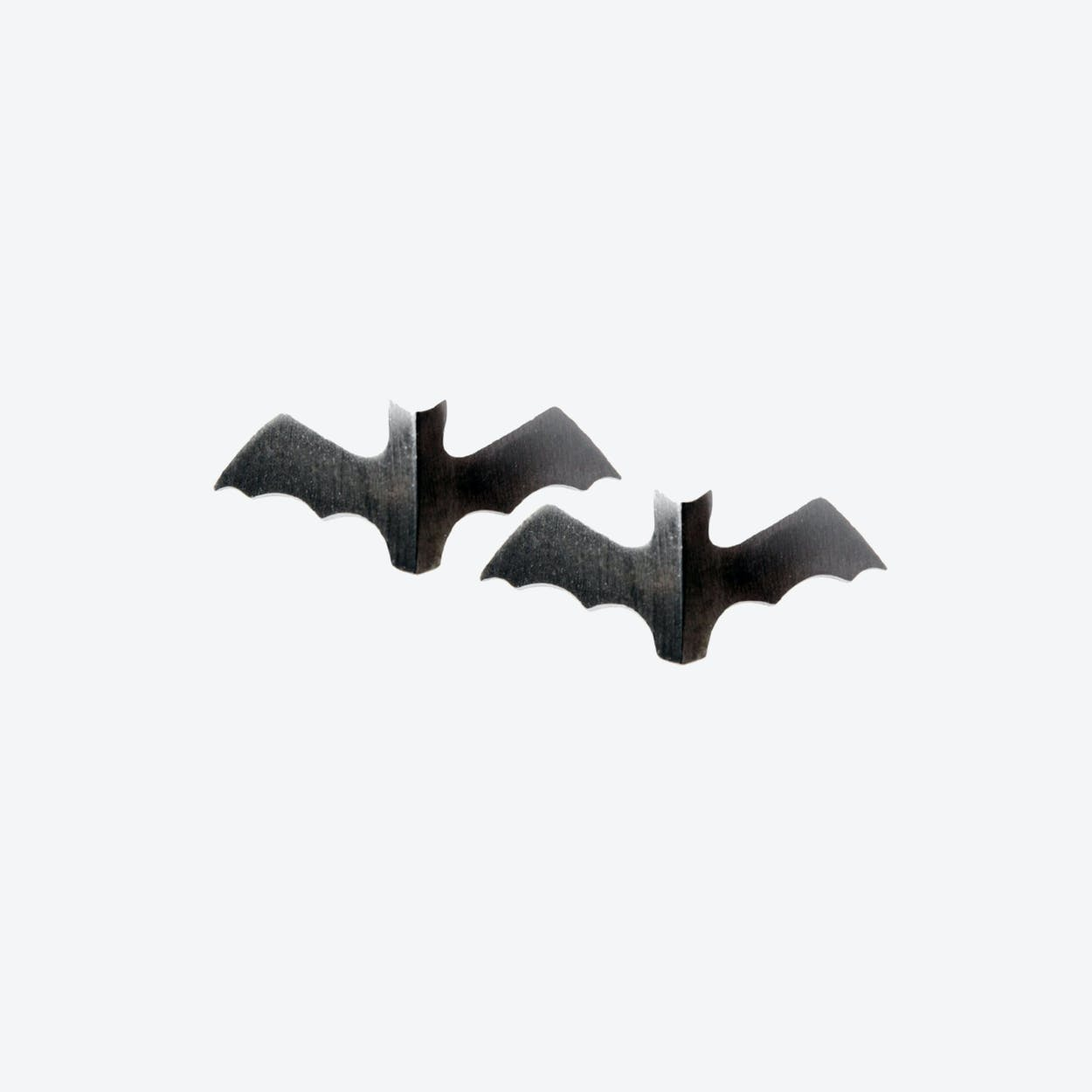 Voodoo Paradise Dark Bat Studs