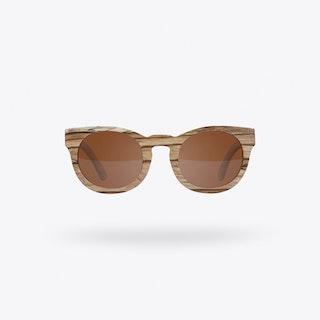 Savannah Zebrano Sunglasses