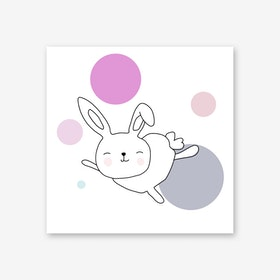 Space Rabbits Astra Art Print