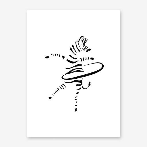 Hula-Hoop Zebra
