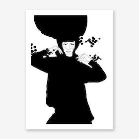 Strike a Pose Sonja Art Print
