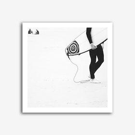 Catch a Wave III Art Print