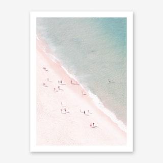 Beach Summer Fun Art Print
