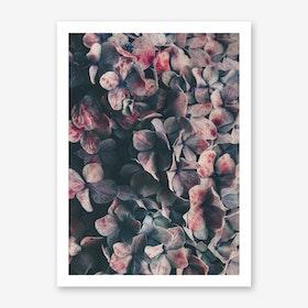 Flowers - Moody Blues Art Print