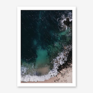 Ocean Blues II Art Print