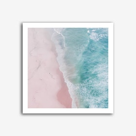 Ocean Walk Art Print