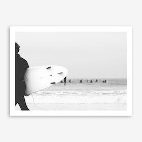 Catch a Wave II Art Print