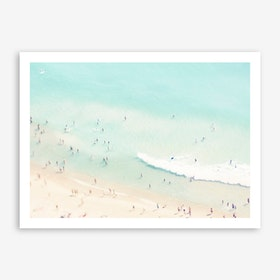 Beach Love Art Print