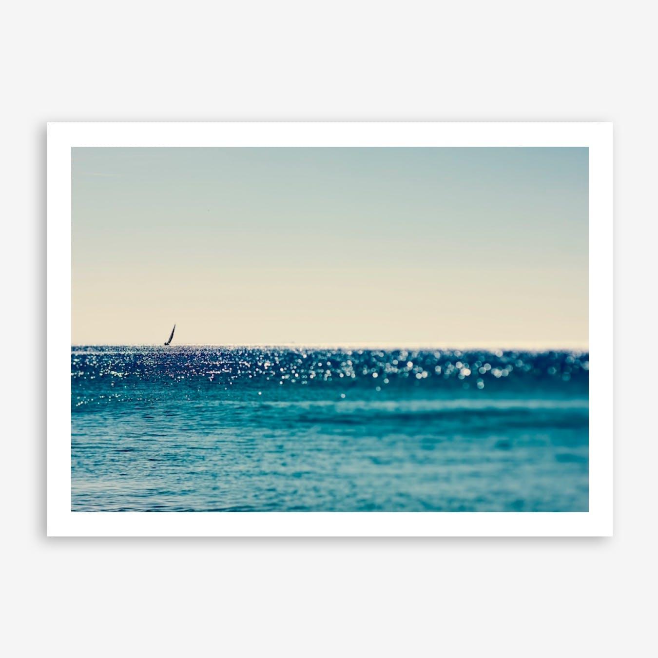 Sail Boat and Sea