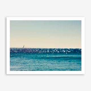 Sail Boat and Sea Art Print