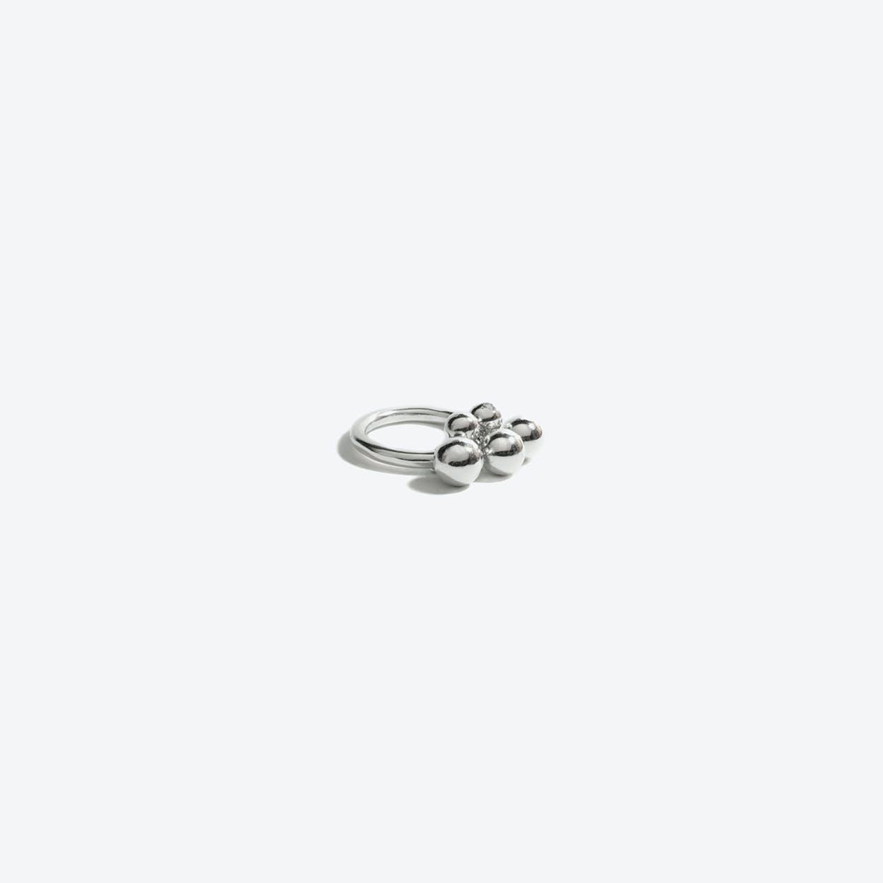 Brugerdi Sisters Ring in Sterling Silver