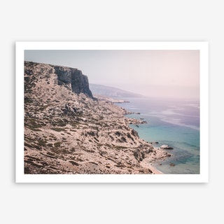 Red Beach x Crete Art Print