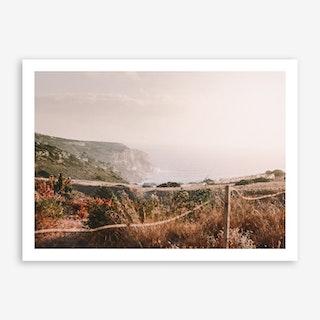 Foggy x Crete Art Print
