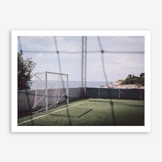 Free x Football Art Print