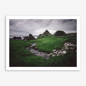 Green x Ireland Art Print
