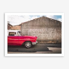 Classic Ride II x Cuba Art Print