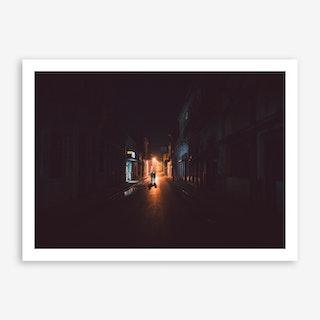 Santa Clara at Night x Cuba Art Print