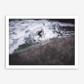 Winter x Surf Art Print