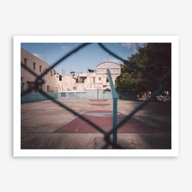 Basketball Court Havana x Cuba Art Print