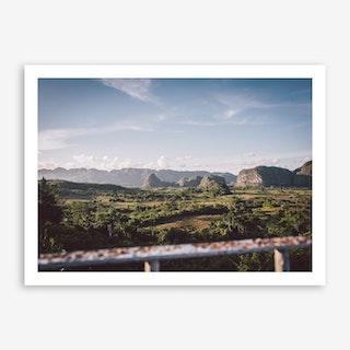 Vinales Landscape x Cuba Art Print
