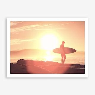 Sunrise Surf x Morocco Art Print